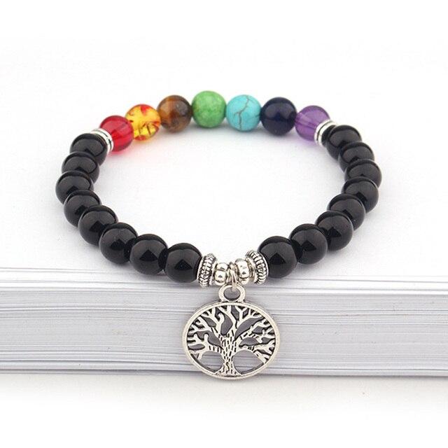 Bracelet Arbre De La Vie - 7 Chakras