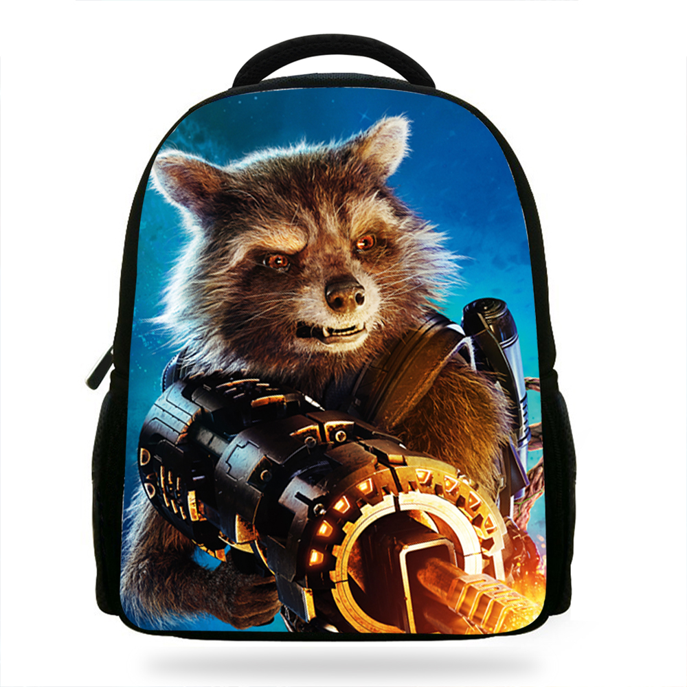 14Inch Guardians of the galaxy Backpack For Girls Boys Super hero Bag For  Kids School Bookbags For Children