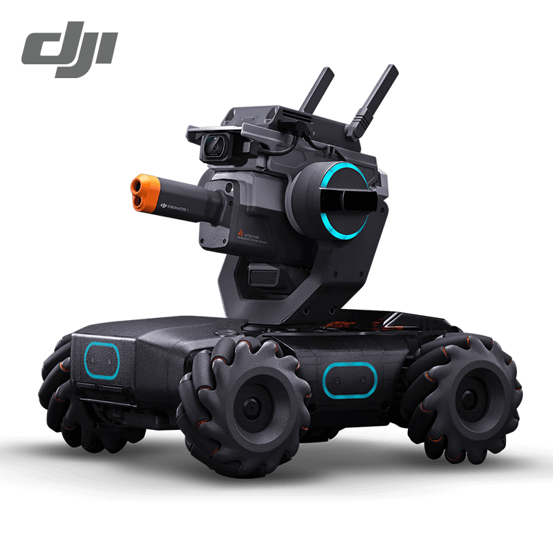 In Stock DJI RoboMaster S1 Intelligent Educational Robot with AI Modules Support Scratch Python Coding Clapping