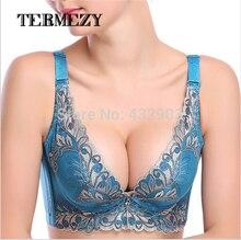 push up bra crop top bralette sexy deep V underwear for women bras fashion sexy Lace supper brassiere conjuntos bust tops intim