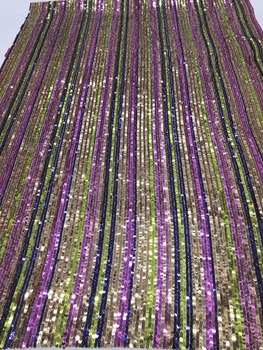 special sequins lace fabric African French net Lace Fabric z-han11130 with super Quality