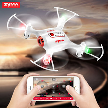 Syma X21W 2.4G 4CH 6-aixs Pocket Drone RC Quacopter With Wifi Camera FPV Real Time Transmit Altitude Hold And One Key Take-off