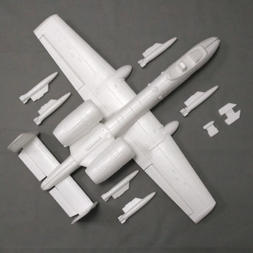 A10 Doppia 50 millimetri Modello RC Elettrico Jet Aereo-in Aerei radiocomandati da Giocattoli e hobby su  Gruppo 2