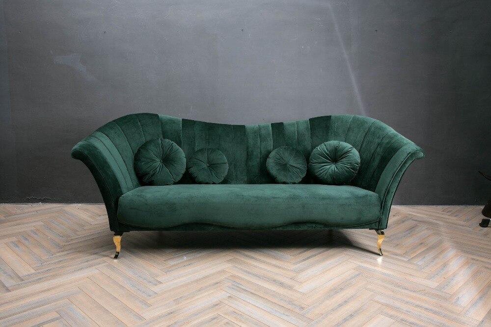 Sofa Set Living Room Furniture With Modern Fabric Sofa Design