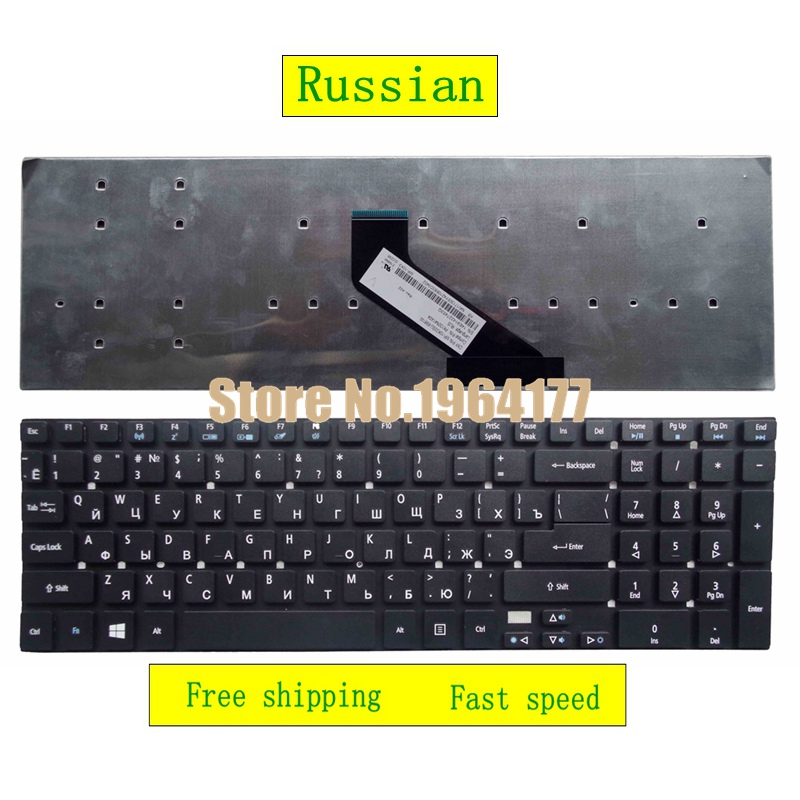 Russian For ACER For Aspire V3 V3-571 V3-571g V3-572 V3-572G V3-551 V3-771G 5755 5755g V5WE2 CM-5 RU replacement Laptop keyboard акма v3 610mol black