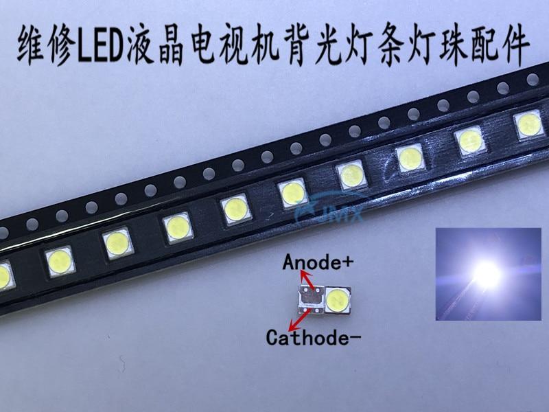 500PCS Lot For LG SMD LED 3535 6V Cold White CHIP 2 2W For TV LCD