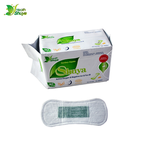 Image 4 - 2 חבילות אניון סניטרי מפית סניטרי מגבות, פעיל חמצן סניטרי רפידות, שלילי וסת pad מוצרי היגיינה נשית