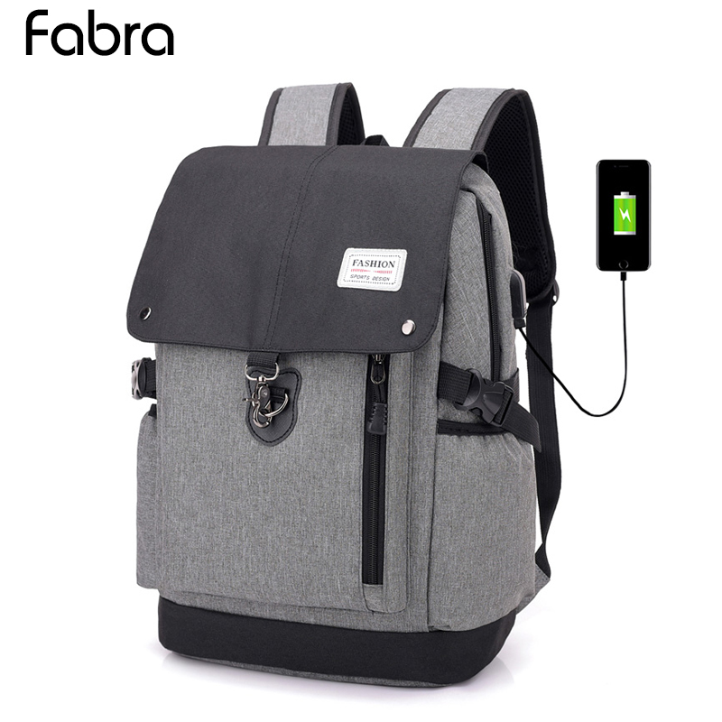 Men 15.6 Laptop Backpack Anti Theft Backpack Usb Charging Men School Notebook Bag Oxford Waterproof Capacity Travel Backpack Bag