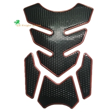 Knight Universal for Motorcycle 3D Rubber Sticker Gas Fuel Oil Tank Pad Protector Cover Decals for Yamaha mt07 fz09 cbr gsxr