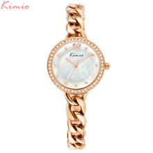 KIMIO Style Bracelet Quartz-watch For Girls Watches Excessive High quality Girls watch Relojes Mujer 2016 Montre Femme 6035