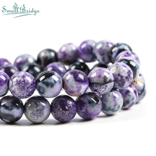 6 8 10mm Nature Stone Beads for Jewellry Making Bracelet Necklace Onxy Accessories Loose Big Hole Wholesale S701