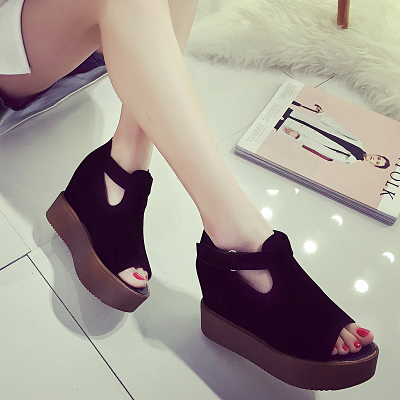 2016 spring summer new Korean fish mouth font b women s b font font b shoes