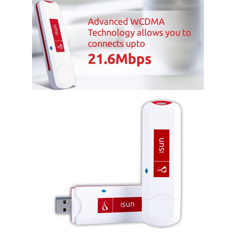 21.6 Mbps 3 גרם HSPA + WCDMA 900/2100 mhz אלחוטי מודם WiFi Dongle Mobile Hotspot