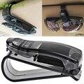 Car Sun Visor Gafas de Sol Recibo Del Billete Clip de la Tarjeta De Almacenamiento Titular car-styling car-styling