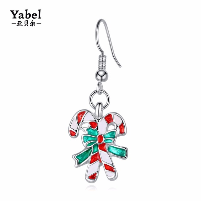 Yabel Creative Hip hop Jewelry Earrings Christmas Gifts Accessories ...