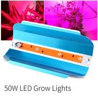 50W LED Plants Grow lights Full spectrum flower fast growing LED plant light fill light