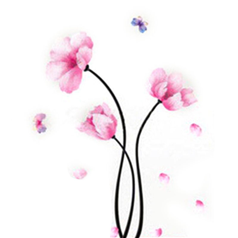 Nice wallpapers reviews online shopping nice wallpapers for Red flower wallpaper living room