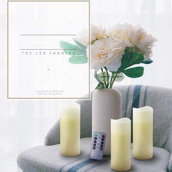 9 Pièces LED Bougie Lampe Multicolore Couleur Simulation Sans Flamme Thé Lumière De Mariage Maison Fête D'anniversaire Décoration Gâteau Bougies
