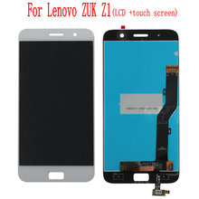 цена на For Lenovo ZUK Z1 LCD Display Touch Screen Digitizer Assembly Replacement Phone Parts For Lenovo ZUK Z1 LCD Screen Free Tools