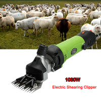 1080W Electric Shearing Clipper Shear Sheep Goats Alpaca Shears Animal Hair Shearing Machine Cutter Wool Scissor Farm Supplies