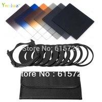 מסנן nd2 4 8 + כחול אפור הדרגתי orange סט טבעת מתאם + בעל + מקרה מסנן + 9 יחידות עבור cokin p + משלוח חינם + מספר מעקב