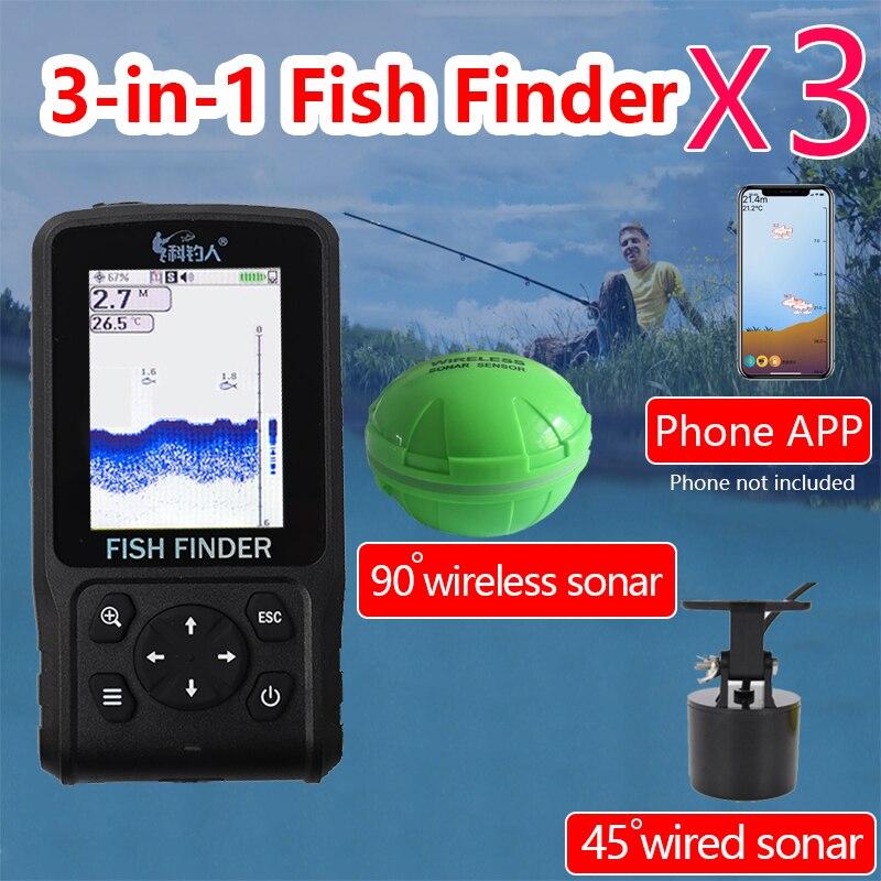 Free Shipping! 2019 degisn Fish Finder Wire+Wireless+APP Portable Sonar Colorful LCD  dot matrix FishFinderFree Shipping! 2019 degisn Fish Finder Wire+Wireless+APP Portable Sonar Colorful LCD  dot matrix FishFinder