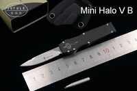 JUFULE Mini H5 V KYDEX Sheath D2 blade aluminum handle camping hunt survival outdoor EDC Hunting tool dinner kitchen knife