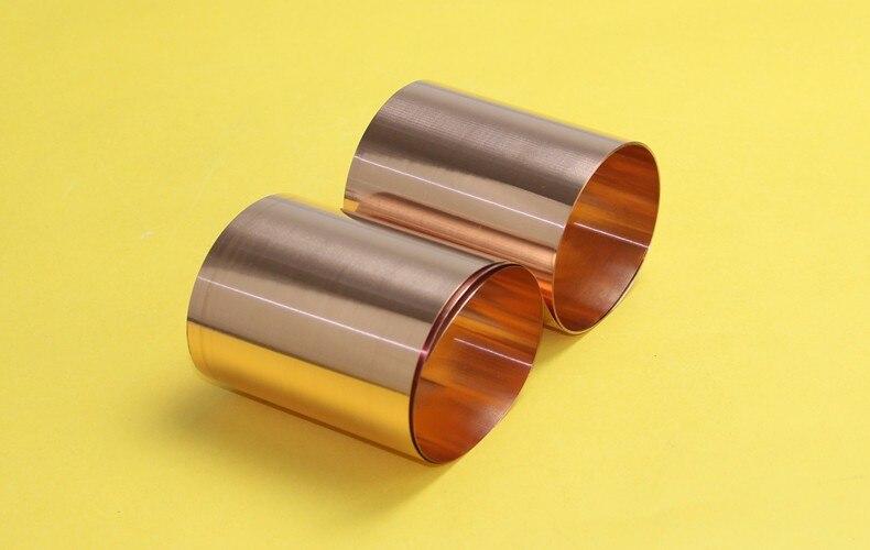 Tiras de cobre 0.01mm * 100mm *