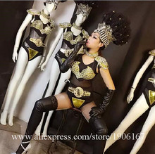 Fashion Catwalk Shows Women Costume Carnival Victoria Sexy Lady Evening Dress Cabaret Stage Performance Cosplay Clothes