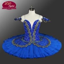 Classical Pancake Ballet Tutu Professional Princess Florina Blue Professioanl Adult Tutus LD0014