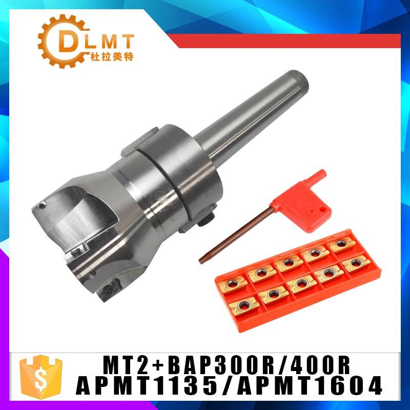 MT2 FMB22/MT3 FMB22/MT4 FMB22 Shank BAP400R/300R 50 22 50mm Face Milling CNC Cutter + 10pcs APMT1604/APMT1135/APKT1604/APKT1135 цена