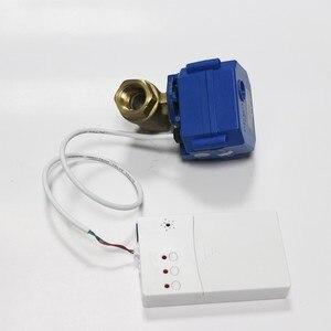 Image 2 - HIDAKA WLD 807 (DN15*1 adet) ab/abd kullanımı profesyonel 6M kablo BSP NPT vana akıllı ev su kaçak dedektörü sensörü koruma