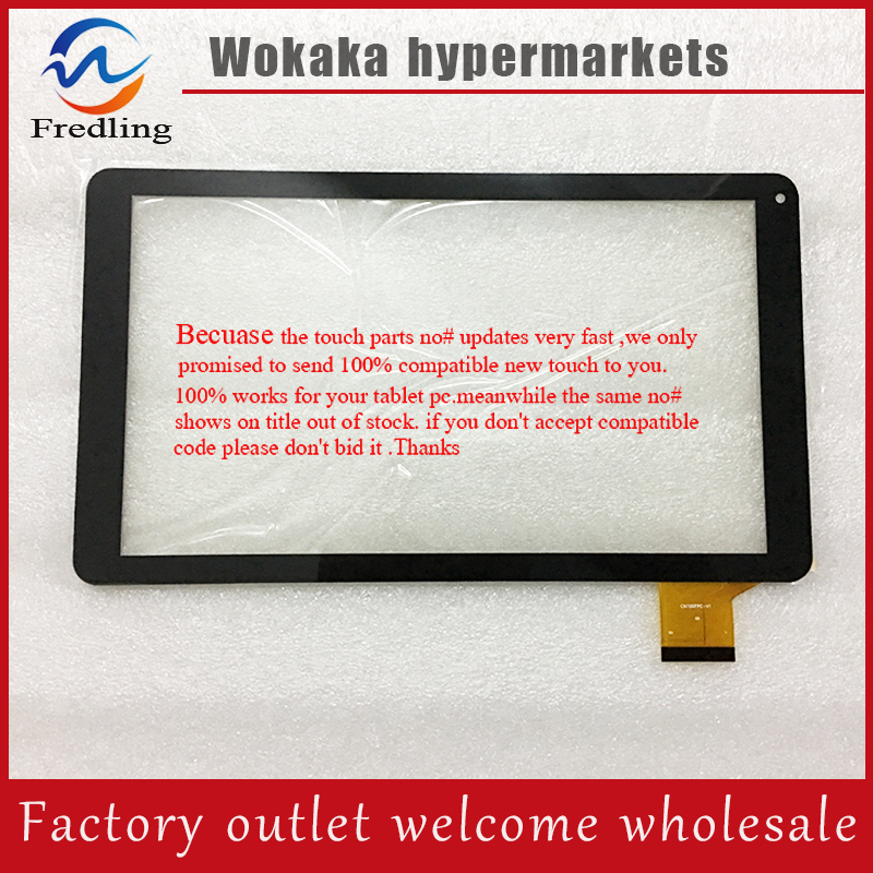 For 10.1 Archos Tablet CN100FPC-V1 touch panel glass sensor replacement Free Shipping witblue new touch screen for 9 7 archos 97 carbon tablet touch panel digitizer glass sensor replacement free shipping