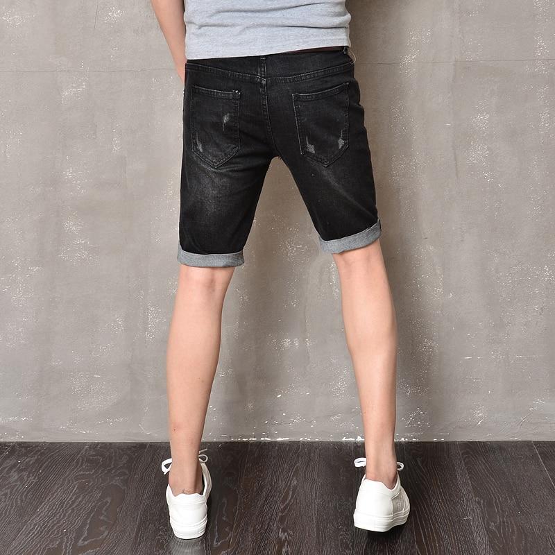 Aliexpress.com : Buy New Brand Casual Men Jeans Shorts Black ...