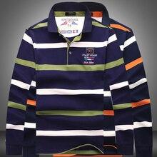 2016 Brand Kenty &Shark long sleeve T-shirt Young men cotton T-shirt lapel business Loose clothes big yards men's sweaters 815