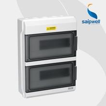 2014 New Hot Sale Saipwell 380*273*110mm 24 WAYS Waterproof MCB Distribution Box High Quality type GDB-24
