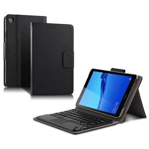 Беспроводная клавиатура Bluetooth для Huawei MediaPad M5 Lite, 8, 5, 8, 7, 8, 8, 8, 8, 8, 8, 8, 8, 8, 8, 8, 8 дюймов, планшетный ПК, защитный чехол из искусственной кожи