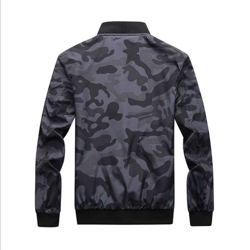 2019 Casual Men 39 s Jacket Printed Floral Pattern Men 39 s Jacket Spring And Autumn Warm thick Motorcycle Zipper Clothes in Jackets from Men 39 s Clothing