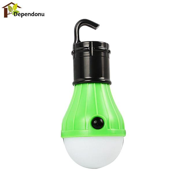 Portable Outdoor Hiking Hanging Light 3x Q5 LED Camping Tent Light Bulb Fishing Lantern Lamp