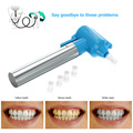 Electric Teeth Polish Whiter Tooth Bleaching Cleaner Stain Remover Dentistry Whitening Pen with 5 Nozzles Dental Care Tools