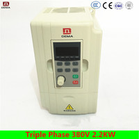 DEMA D5M Series Motor Control AC Drive/VFD 380V Triple Phase 2.2KW Frequency Converter For Electric Asynchronous motor Inverter
