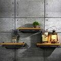 Nova Marca de 25*15 cm Parede Pendurado Suportes de Armazenamento Prateleiras Do Banheiro Prateleira de Metal & Madeira para Sala de estar, cozinha FJ-ZN1Y-012A0