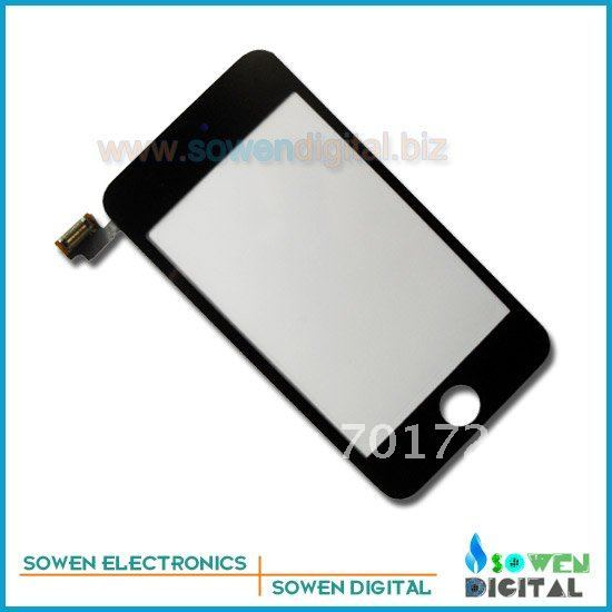 Digitizer for ipod touch 2,free shipping ,best quality,wholesale or retail on the aliexpress
