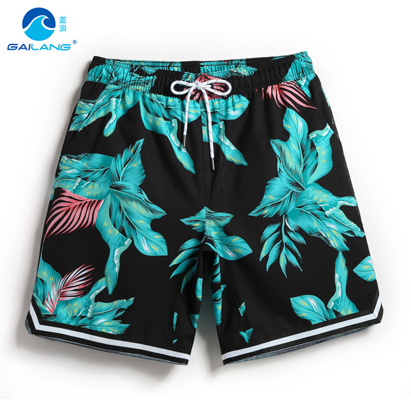 2018 New   board     shorts   men swimming trunks bathing suits surf   short   mens swimwear swimsuits beach   shorts   plavky liner sexy mesh