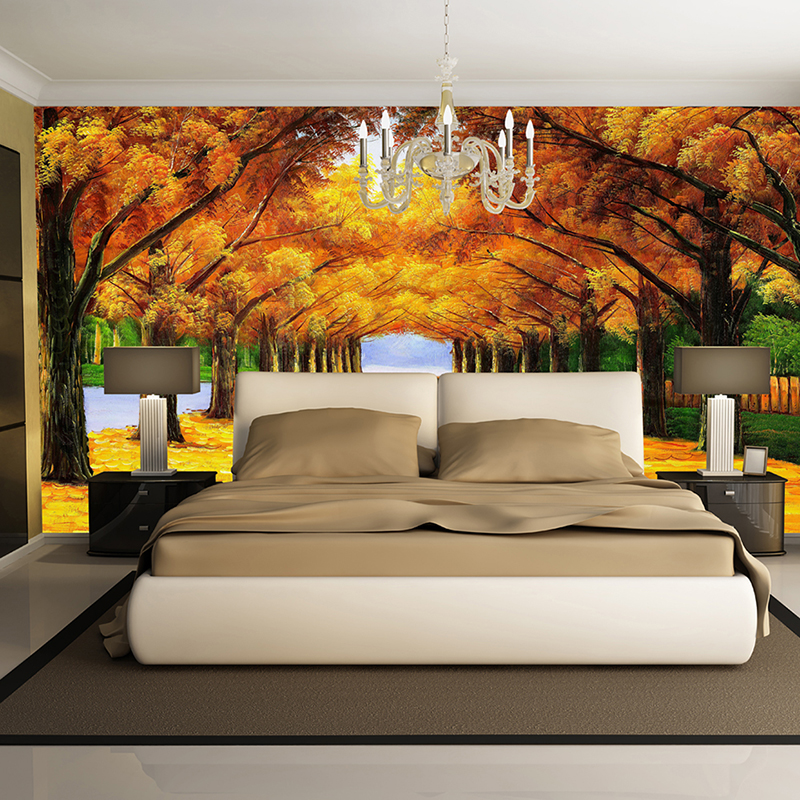 Custom 3D Photo Home Wallpaper Non-woven Mural Wallpaper 3d Living Room TV backdrop Oil Painting Mural Wallpaper Home Decoration large yellow marble texture design wallpaper mural painting living room bedroom wallpaper tv backdrop stereoscopic wallpaper