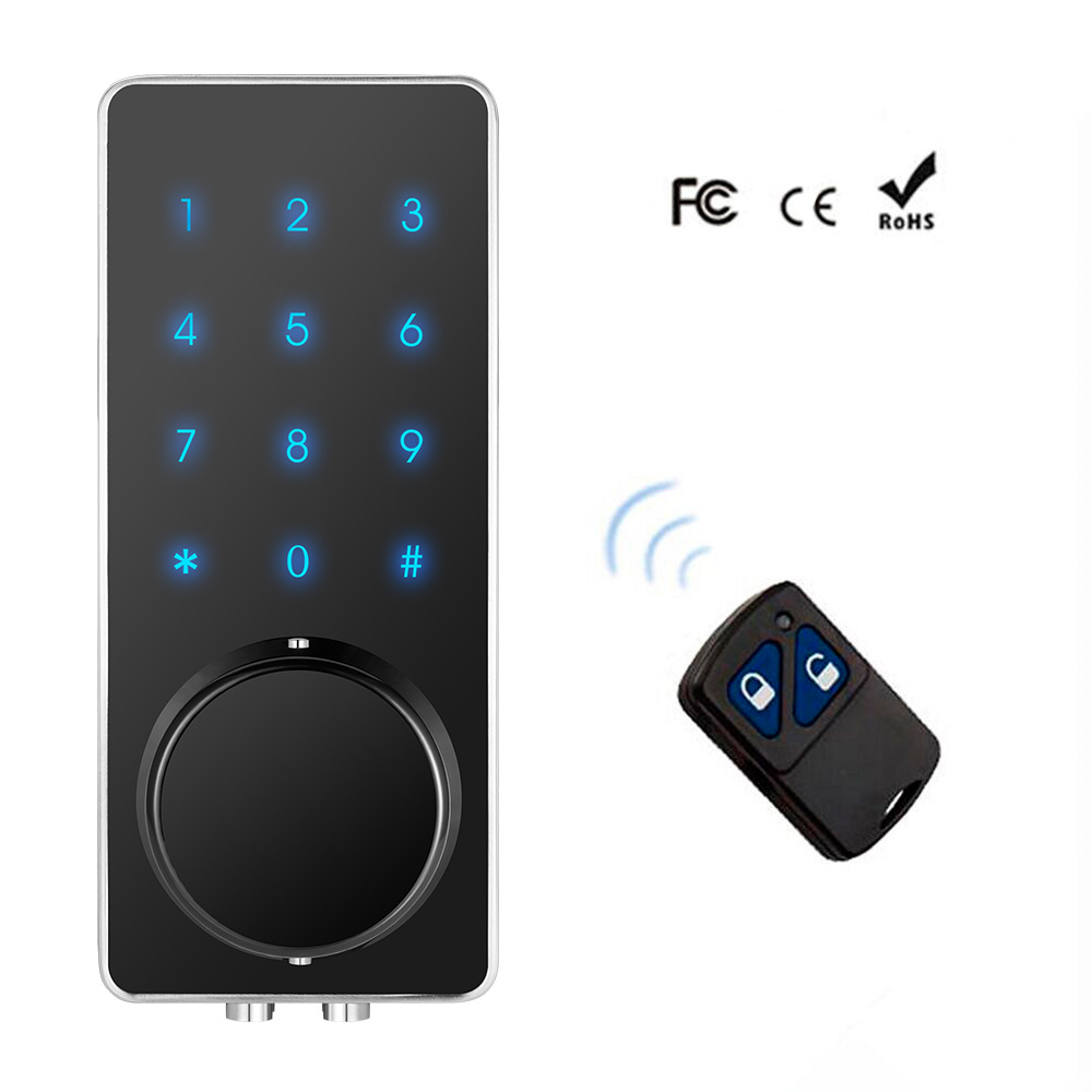 Smart Electronic Door Lock Touch Screen Keypad For hotel Apartment Anti-theft Digital Code  Door Lock Remote Unlock IC CardSmart Electronic Door Lock Touch Screen Keypad For hotel Apartment Anti-theft Digital Code  Door Lock Remote Unlock IC Card