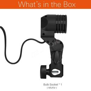 Image 2 - Godox Lh 01 Ac Slave Işık E27 Soket w/şemsiye tutucu Softbox Işık Standı Montaj