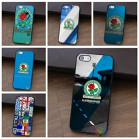 Blackburn Rovers 3 Fashion Cell Phone Case For Iphone 4 4s 5 5s 5c SE 6