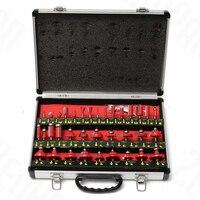 35pcs 1/4 Inch Shank Tungsten Carbide Tip Router Bit Set Woodworking Tool