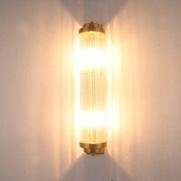 Скандинавский постмодерн Простой настенный светильник гостиная кристалл свет лампы экстравагантные фоне стены лестница спальня LU8201343